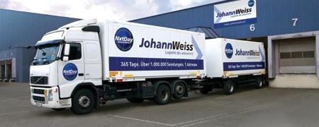 Weiss Logistik Center setzt auf DISPONENTplus