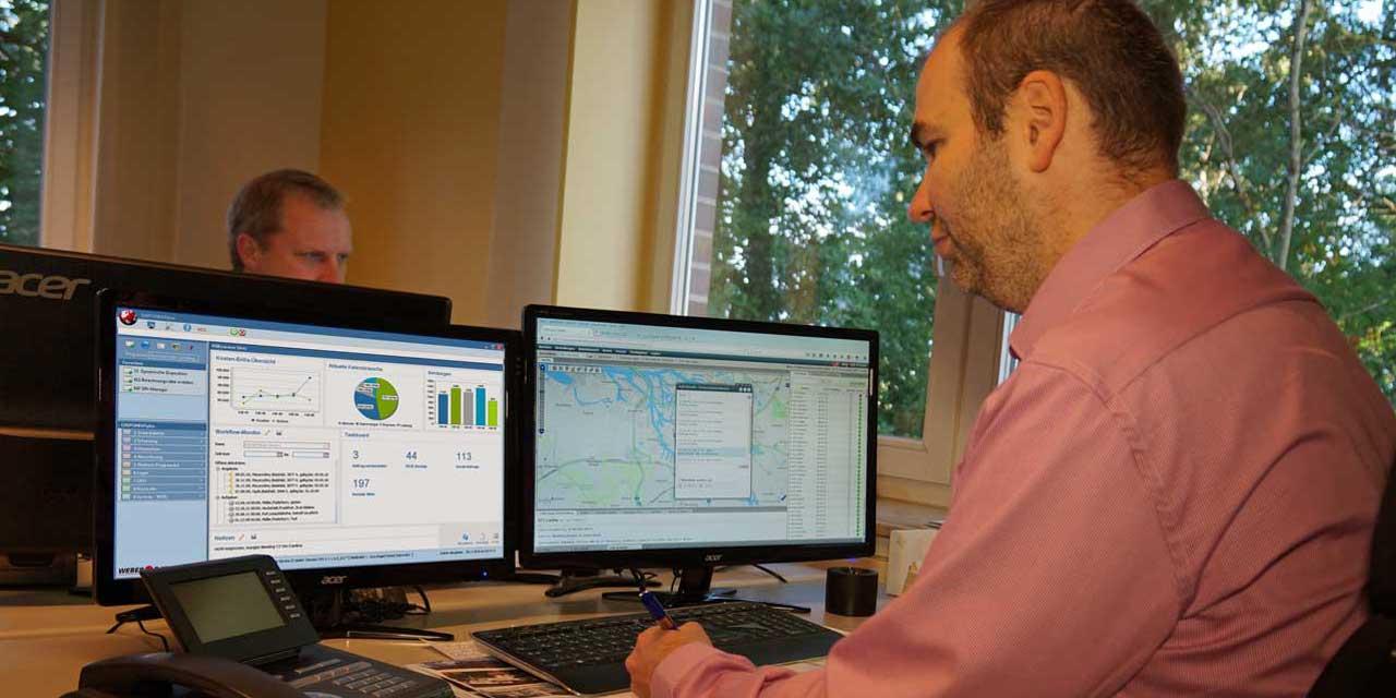 Weber Data Service Logimat, Dashboard