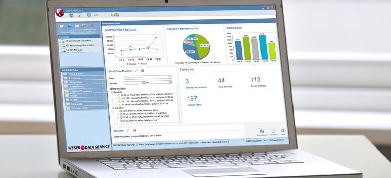 Mehr Transparenz mit Monitoring Desk für Transport Management System